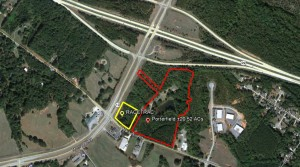 Porterfield Tract – Mars Hill Commercial Property Adjacent to Racetrac