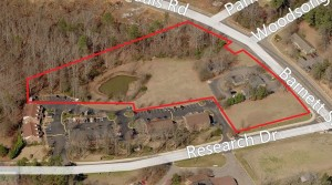 Philip MorrisTract – Commercial Land and Office Buildings on Barnett Shoals