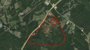 Westland Tract  –  428.69+/-  acres  in  Oconee County