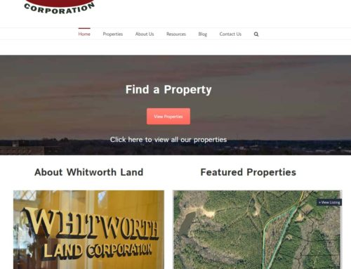 Whitworth Land Launches new website
