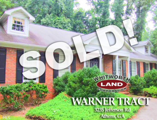 Warner Tract Sold!