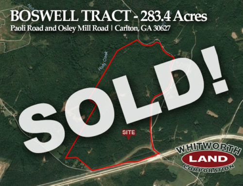 Boswell Paoli Rd Tract Sold!