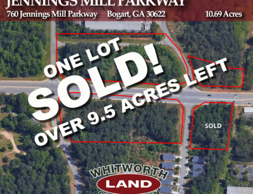 Portion of Jennings Mill Parkway Sold