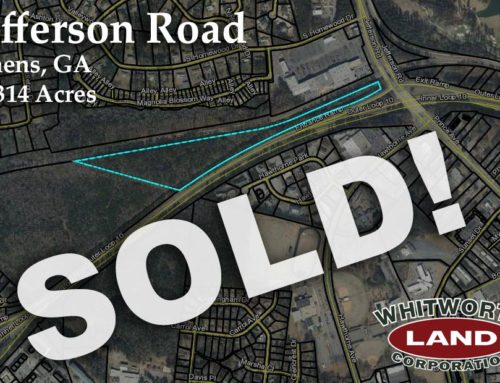 18.314 Acres of Jefferson Road property Sold!