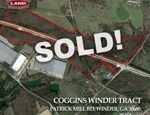 Coggins Winder Tract Sold!