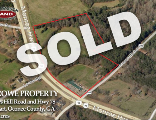 Crowe Property Sold!