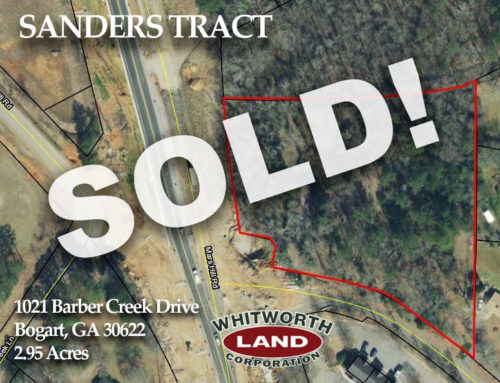 Sander's Tract Sold!