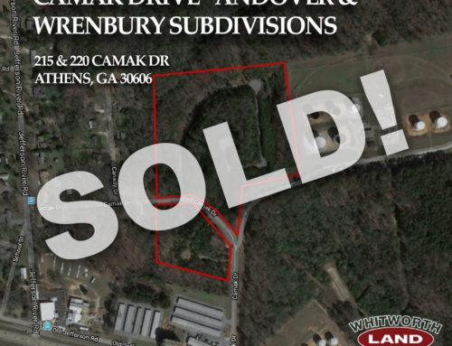 Camak Drive sold!
