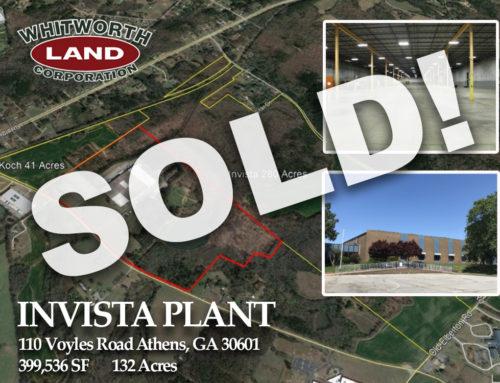 Invista Plant Sold!