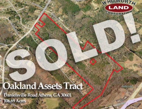 Oakland Assets Tract sold!